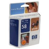 Genuine OEM HP C6658AN (HP 58) Color Print Cartridge