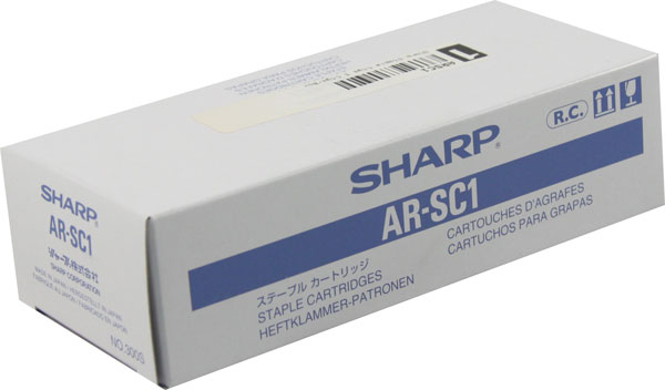 Genuine OEM Sharp ARSC1 Staples (3/pk)
