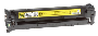 Genuine OEM HP CB542A Yellow Toner Cartridge (1400 page yield)