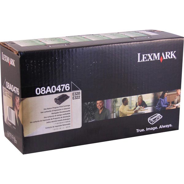 Lexmark 08A0476 Black OEM Print Cartridge