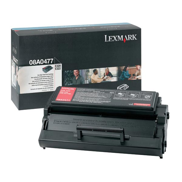 Lexmark 08A0477 Black OEM Toner Cartridge
