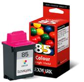 Lexmark 12A1985 (Lexmark #85) Color OEM Inkjet Cartridge