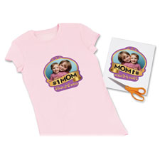 "Iron-On T-Shirt Transfers, 6/PK, 8-1/2""x11"""