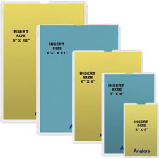 ANGLER'S Heavy Crystal Clear Poly Envelopes