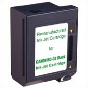 Premium Quality Black Inkjet Cartridge compatible with the Canon (BC-02) 0881A003AA