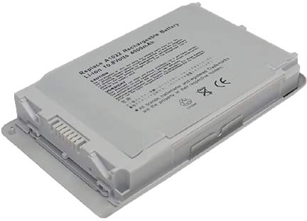 "<img src=""/Images/Recycler.gif"" height=""15"" border=""0"" width=""15""><font color=""#008000""><b>Apple PowerBook G4 12 Inch Battery (10.8V, 4400 mAh, Li-ion 6 Cells)"