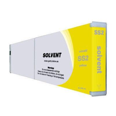 Premium Quality Yellow Solvent Ink compatible with Mimaki SS2 YE-440