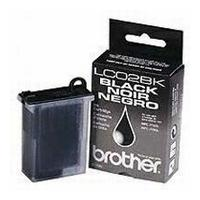 Genuine OEM Brother LC-02BK Black Inkjet Cartridge (750 page yield)