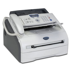 Brother IntelliFax 2820 (FAX-2820) Black Laser Printer