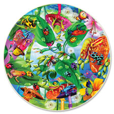 A Broader View Creepy Critters 500-pc Round Puzzle