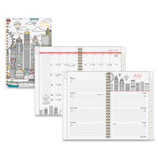 "Paint The Town Wk/Mth Planner, 12Mths, 5-3/4""x8-1/2"", Ast  (1 EA)"