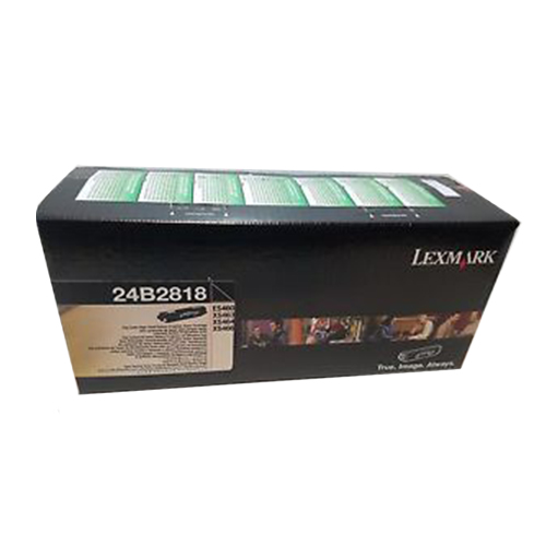 Lexmark 24B2818 Black OEM Extra High Yield Print Cartridge