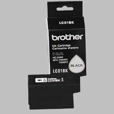 Genuine OEM Brother LC-01BK Black Inkjet Cartridge (700 page yield)